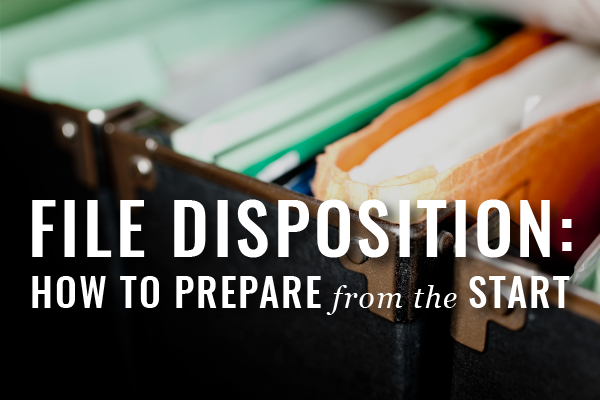Eve Of Destruction: Preparing For The Disposition Of Client Files