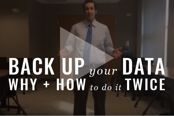 Backtrack: Make Doubly Sure Your Law Firm Data Is Secure [Video]