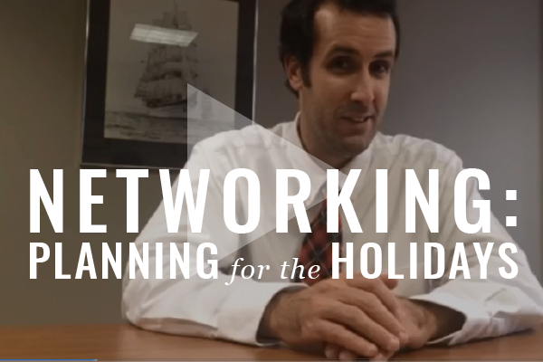 Home Alone, Too? Get Networking At Those Holiday Parties [Video]