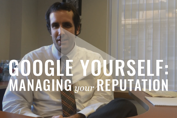 Online Checkup: Google Yourself [Video]