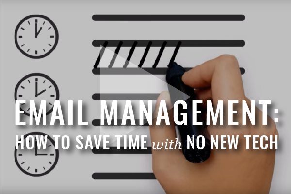 Time-Saving Email Tips [Video]