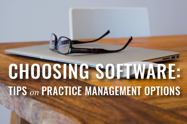 Practice Management Software Options