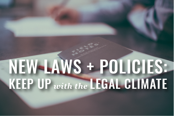 How Small Firms Can Keep Up With Legal Climate