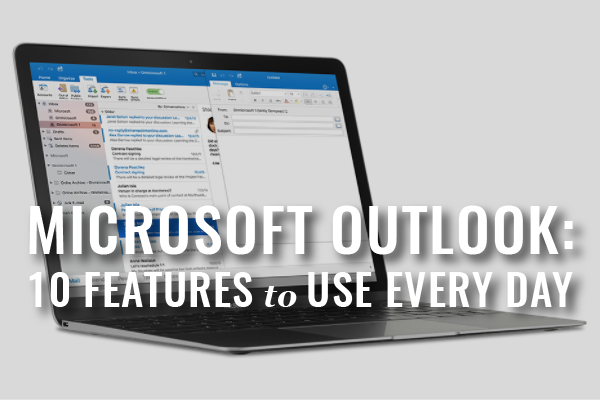 Ms Outlook Features For Lawyers
