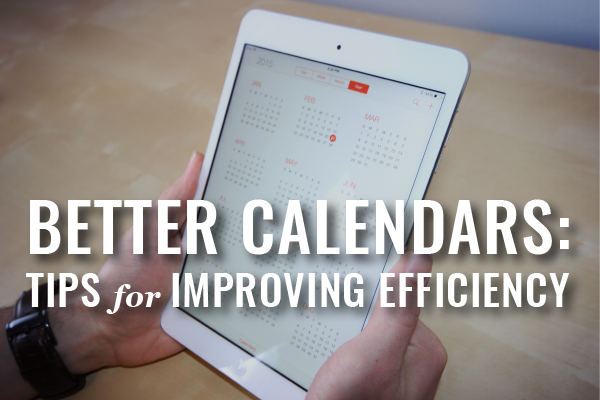 Better Calendaring For Law Practices