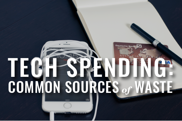 Sources Of Wasted Tech Spend