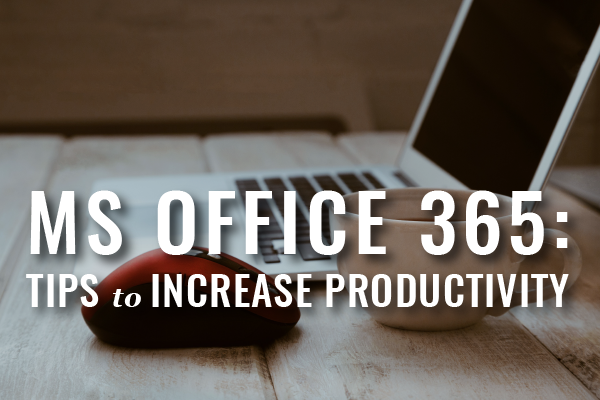 Office 365 Productivity For Lawyers