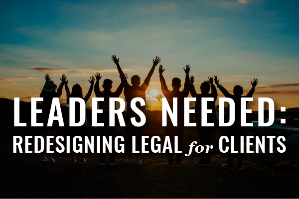 Redesigning Legal Services
