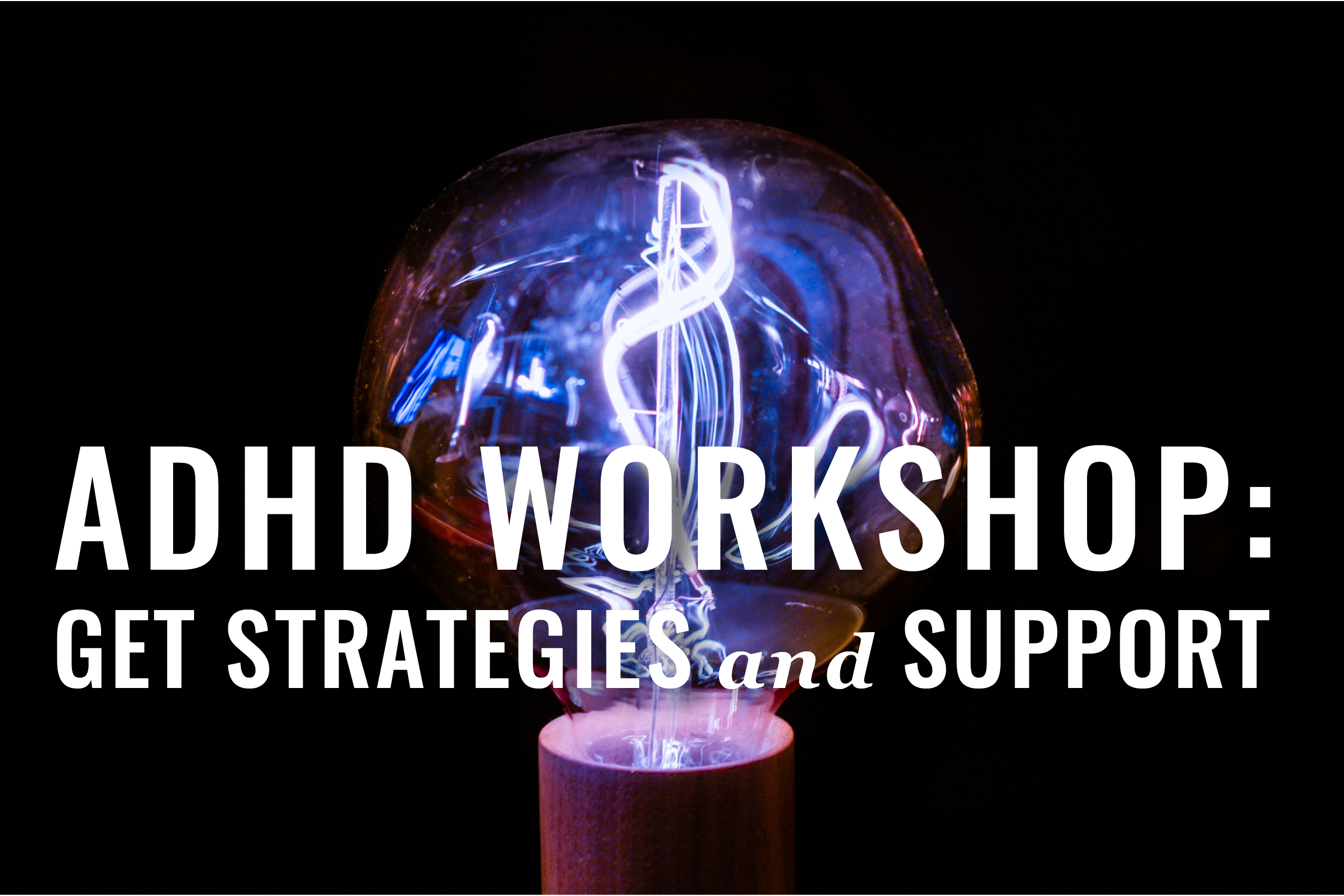 Adhd Workshop For Lawyers