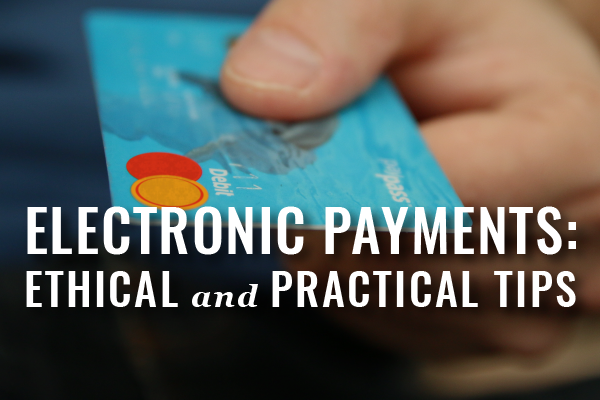 Accepting Electronic Payments In Law Firm