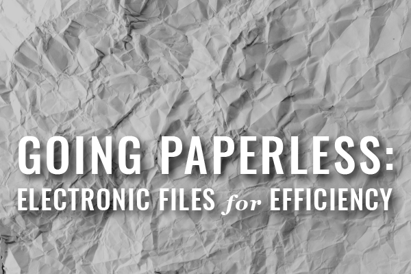 Law Firms Should Be Paperless — Not Paper-Free [Guest Post]