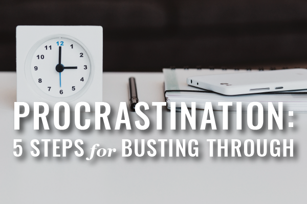Lawyers Overcome Procrastination