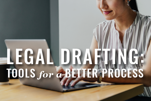 Tools To Improve Legal Drafting
