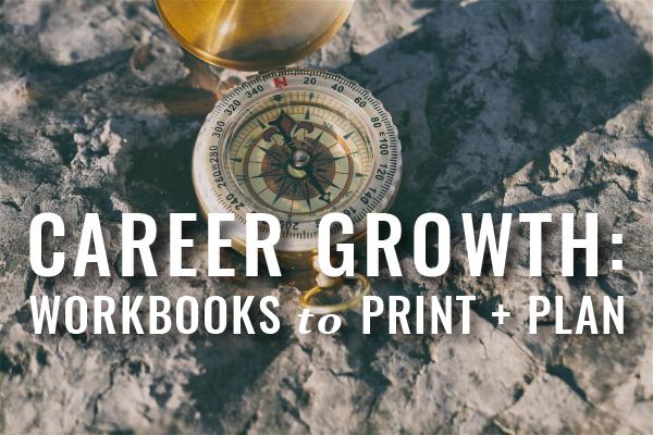 Career Growth Workbooks To Print And Plan