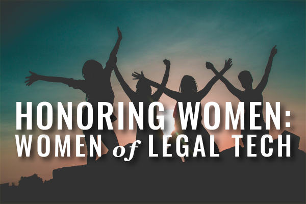 ABA LTRC Women Of Legal Tech Honorees 2019