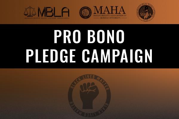 Open Until February 2021: Pro Bono Pledge Campaign - Walk In Solidarity For Social Change