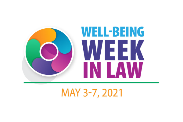 An Image Of The Logo For Well-Being Week In Law